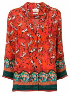 Chufy Najima printed shirt - Orange