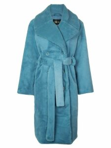 Stine Goya Happy faux fur coat - Blue