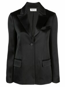 Partow Owen satin blazer - Black