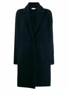 Vince single-breasted coat - Blue