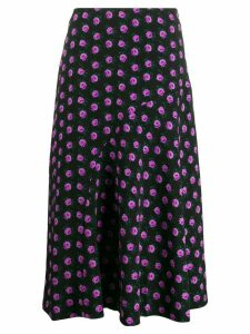 Essentiel Antwerp floral print skirt - Black