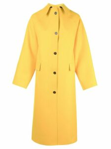 Kassl Editions single breasted coat - Yellow