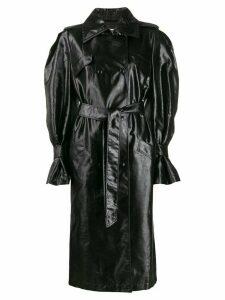 Olivier Theyskens belted trench coat - Black