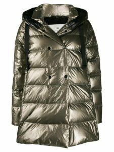 Hetregò padded hooded coat - Brown