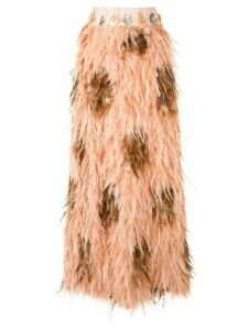 Alison Brett Loulou Birthday feather dress - PINK