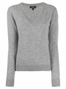 Theory knit V-neck sweater - Grey