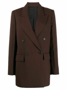 Joseph John double-breasted blazer - Brown
