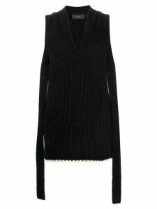 Alanui Bright Touch cashmere dress - Black