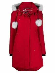 Moose Knuckles Stirling parka coat - Red