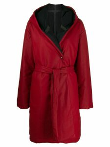 Isaac Sellam Experience Droplatique down coat - Red