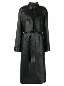 RtA Harlow belted trench coat - Black