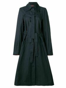 Henrik Vibskov Onion trench coat - Blue