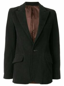 Sulvam single-breasted blazer - Black