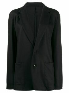 Attachment oversized single-breasted blazer - Blue