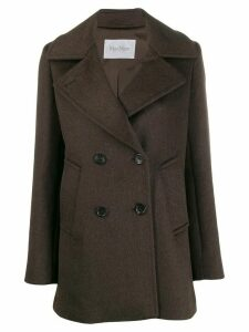 Max Mara single-breasted coat - Brown