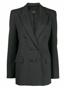 Pinko fitted double-breasted blazer - Grey