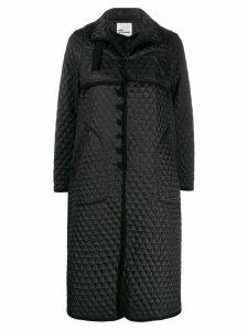 Comme Des Garçons Noir Kei Ninomiya diamond quilted coat - Black