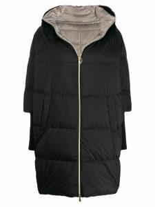 Herno reversible oversized padded coat - Black