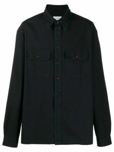 Lemaire military-style shirt - Blue