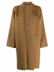 Sofie D'hoore oversized wrap-style coat - Brown