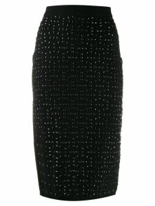 Michael Michael Kors studded knit pencil skirt - Black