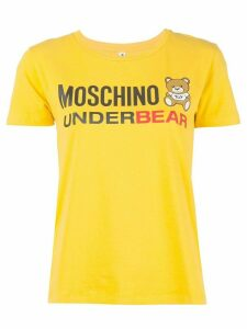 Moschino Teddy Bear logo T-shirt - Yellow