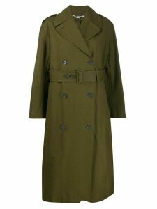 Stella McCartney belted trench coat - Green