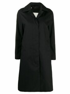 Mackintosh Dunkeld buttoned coat - Black