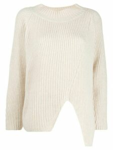 20:52 chunky knit jumper - Neutrals