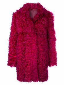 Sies Marjan Ripley coat - Red