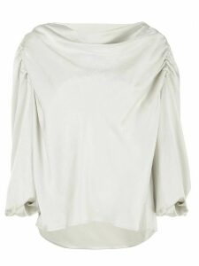 Lemaire draped top - White
