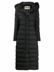 Herno padded parka coat - Black