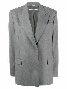 Stella McCartney boxy minimal blazer - Grey