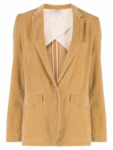 Forte Forte single-breasted blazer - NEUTRALS