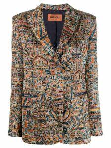 Missoni batik print jacket - Orange