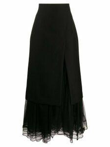 Comme Des Garçons Noir Kei Ninomiya high-waisted layered skirt - Black