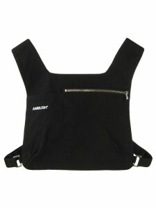 Ambush cropped chest vest - Black