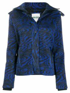 Kenzo zip-front jacket - Blue