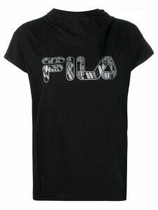 Fila short sleeve hoodie - Black