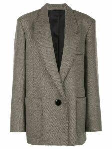 Lemaire oversized boxy jacket - Brown