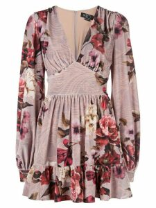 Patbo floral print mini dress - Pink