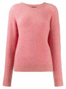 A.P.C. crew neck jumper - Pink