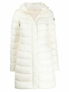 Peuterey fitted padded coat - Neutrals