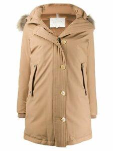 Mackintosh DORNOCH Camel Wool Down Parka LD-1001 - Brown