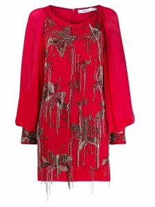 Amen embellished short dress - Red
