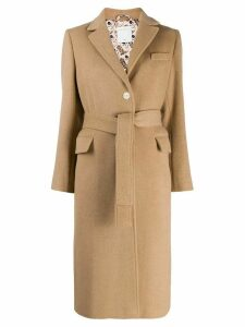 Sandro Paris Camen camel coat - Neutrals