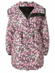 Giambattista Valli floral print hooded parka - Pink