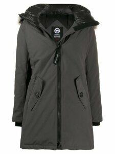 Canada Goose hooded zipped coat - Grey