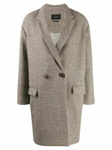 Isabel Marant Filipo coat - Neutrals