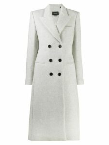 Isabel Marant double breasted coat - Grey